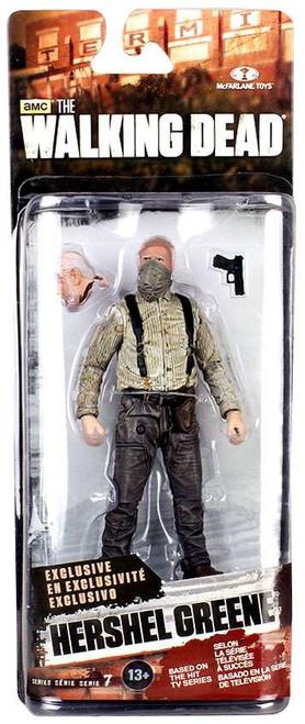 McFarlane Toys The Walking Dead AMC TV Series 7 Hershel Greene Exclusive Action Figure [Bandana Covered Face]