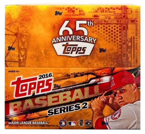 MLB Topps 2016 Series 2 Baseball Trading Card RETAIL Box [24 Packs]