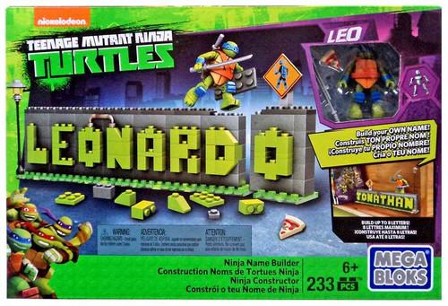 Mega Bloks Teenage Mutant Ninja Turtles Animation Ninja Name Builder Set #44790