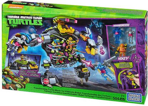 Mega Bloks Teenage Mutant Ninja Turtles Animation Transforming Turtle Mech Set #15752