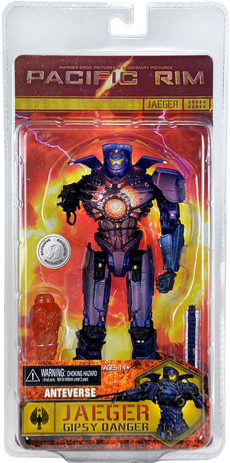 NECA Pacific Rim Anteverse Gipsy Danger Exclusive Action Figure [Damaged Package]