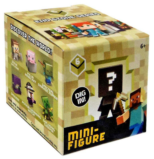 Minecraft End Stone Series 6 Mystery Pack [1 RANDOM Figure]