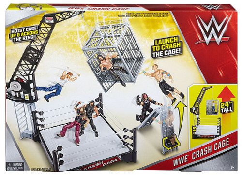 WWE Wrestling Crash Cage Playset