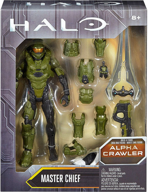 Halo Alpha Crawler Series Master Chief Action Figure