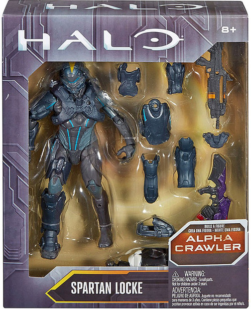 Halo Alpha Crawler Series Spartan Locke Action Figure