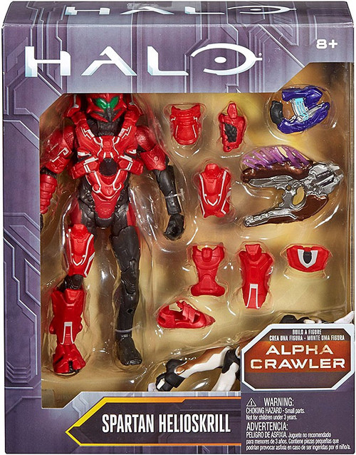 Halo Alpha Crawler Series Spartan Helioskrill Action Figure