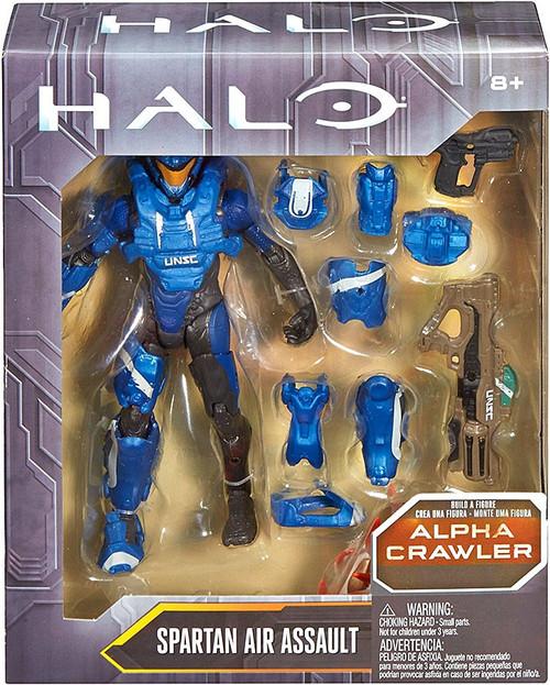 Halo Alpha Crawler Series Spartan Air Assault Action Figure