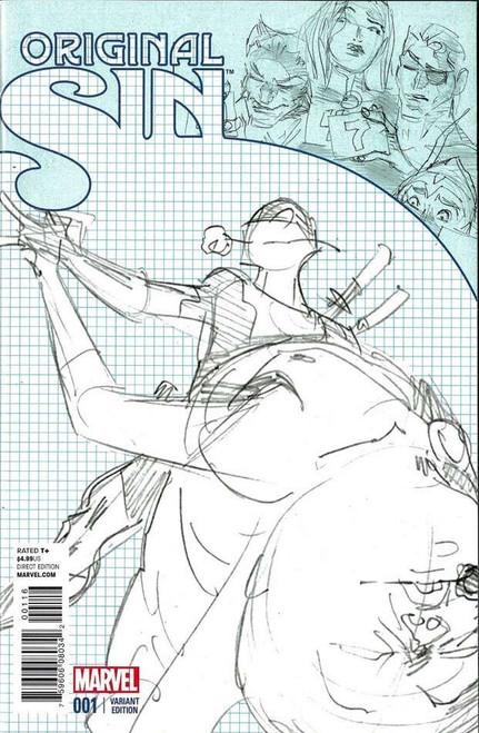 Original Sin #1 Comic Book [Deadpool Dancing Party Variant Sketch Cover I Incentive]