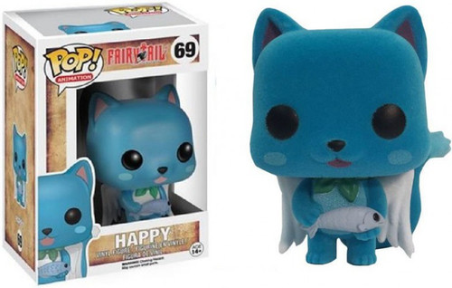 Funko Fairy Tail POP! Anime Happy Vinyl Figure #69 [Flocked]
