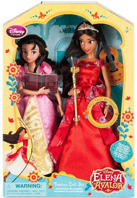 Disney Elena of Avalor Elena & Isabel Exclusive 11-Inch Singing Doll 2-Pack [2016]