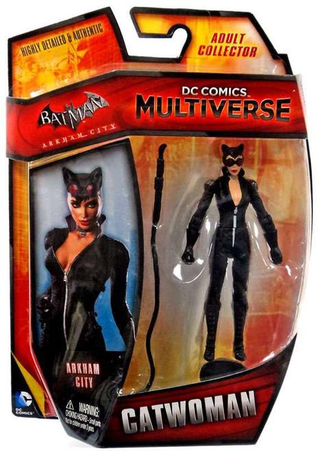 Batman Arkham City DC Comics Multiverse Catwoman Exclusive Action Figure [Arkham City]