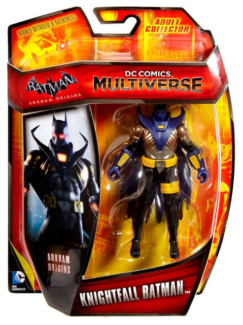 Arkham Origins DC Comics Multiverse Knightfall Batman Exclusive Action Figure