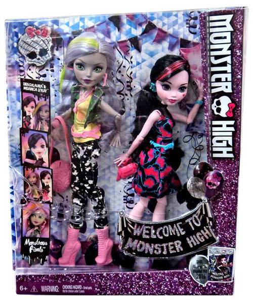 Welcome to Monster High Draculaura & Moanica D'Kay Doll 2-Pack