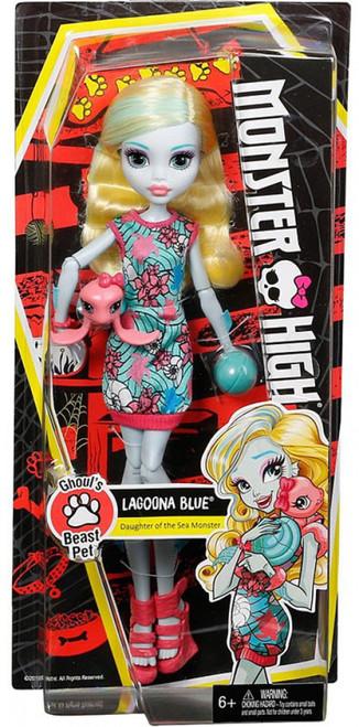 Monster High Ghoul's Beast Pet Lagoona Blue Doll