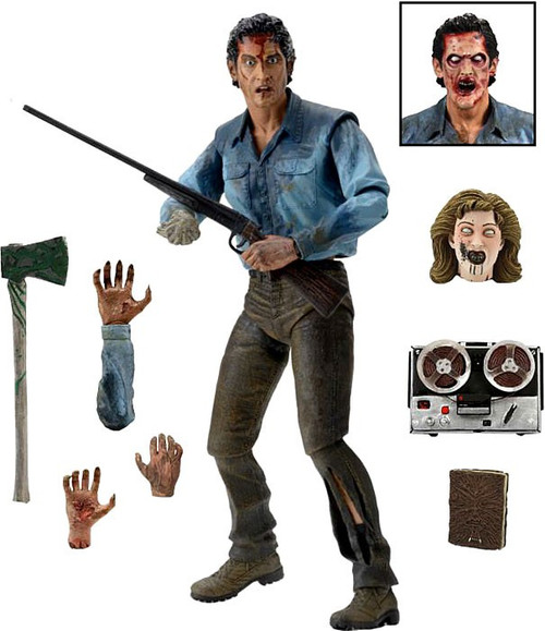 NECA Evil Dead Dead By Dawn Ash Action Figure [Ultimate Version]