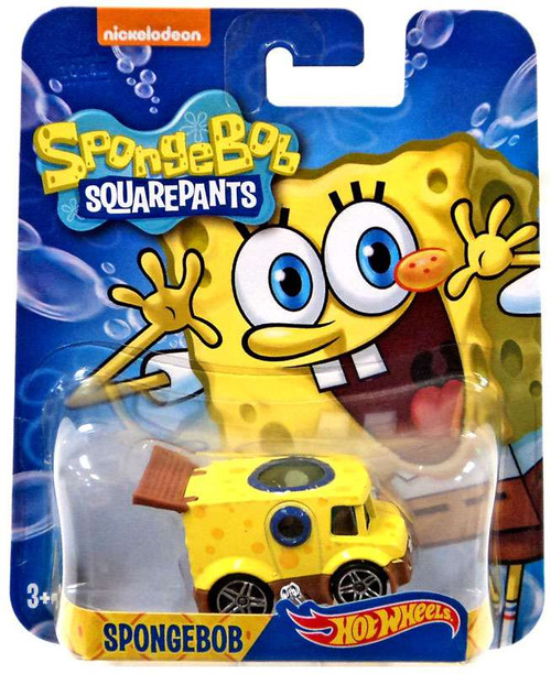 Hot Wheels Spongebob Squarepants Spongebob Diecast Character Car [2016]