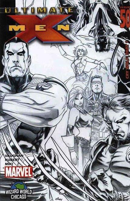 Ultimate X-Men #50 Variant Sketch Cover Comic Book [Wizard World Chigaco]