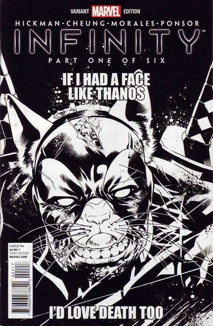 Infinity #1 Comic Book [Variant Party Sketch Cover J Incentive]