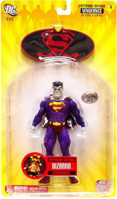 DC Superman Batman Series 4 Vengeance Bizarro Action Figure [Damaged Package]