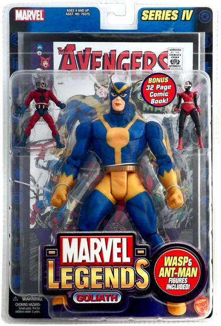 Marvel Legends Series 4 Goliath Action Figure [Damaged Package]