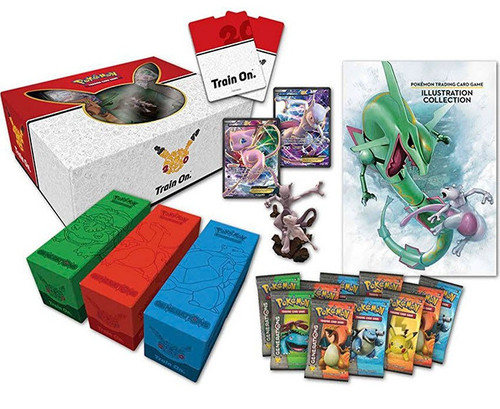 Pokemon Trading Card Game Mew & Mewtwo Super Premium Collection