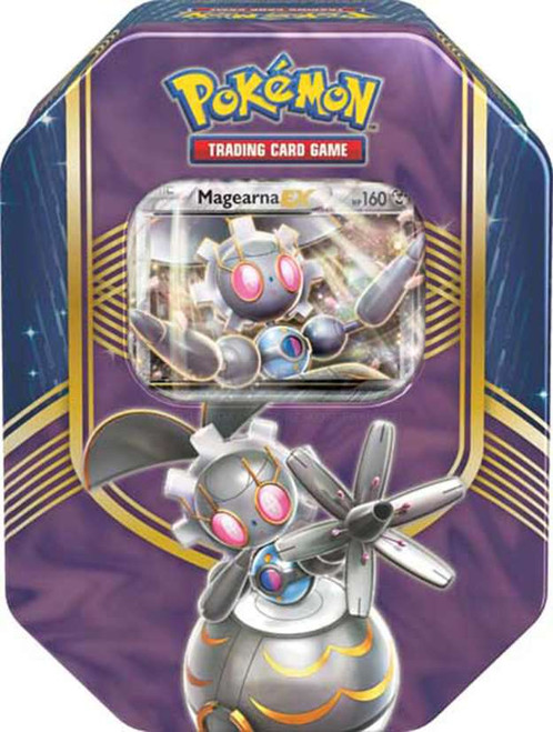 Pokemon Trading Card Game 2016 Battle Heart Magearna-EX Tin Set [4 Booster Packs & Promo Card!]