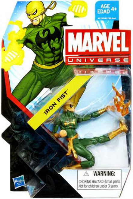 Marvel Universe Series 22 Iron Fist Action Figure #2 [Damaged Package]