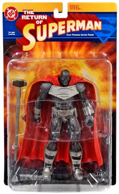 DC The Return of Superman Steel Action Figure [Loose]