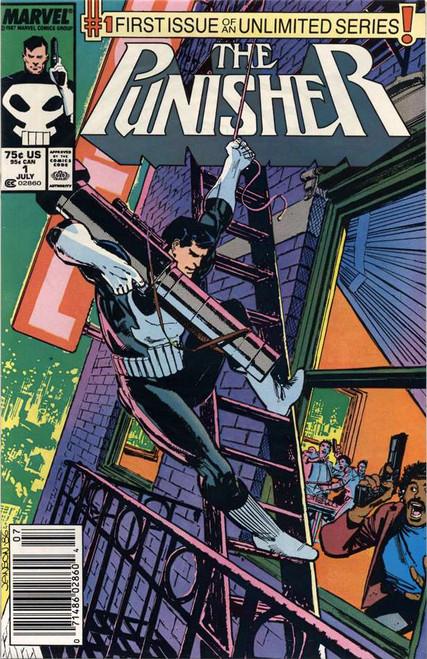 Punisher Vol 2 #1 Comic Book