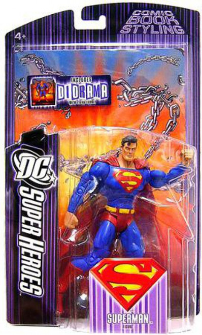 DC Super Heroes Superman Action Figure [Damaged Package]