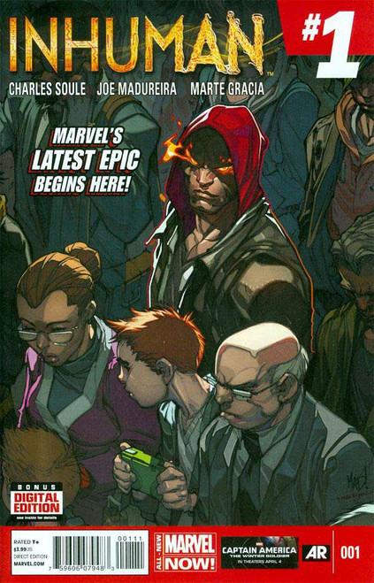 Marvel Comics Inhuman #1 Comic Book [1st Lash]