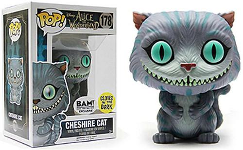 Funko Alice in Wonderland POP! Disney Cheshire Cat Exclusive Vinyl Figure #178 [Glow-in-the-Dark]