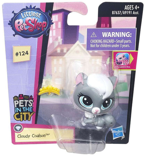 Littlest Pet Shop Pets in the City Cloudy Coalson
