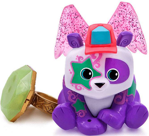 Animal Jam Twinkle Panda with Light Up Ring Figure