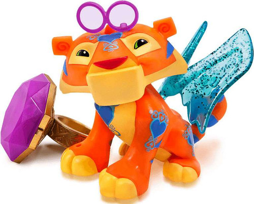 Animal Jam Sparkle Tiger with Light Up Ring Figure