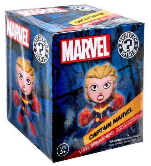 Funko Mystery Minis Captain Marvel Vinyl Bobble Head