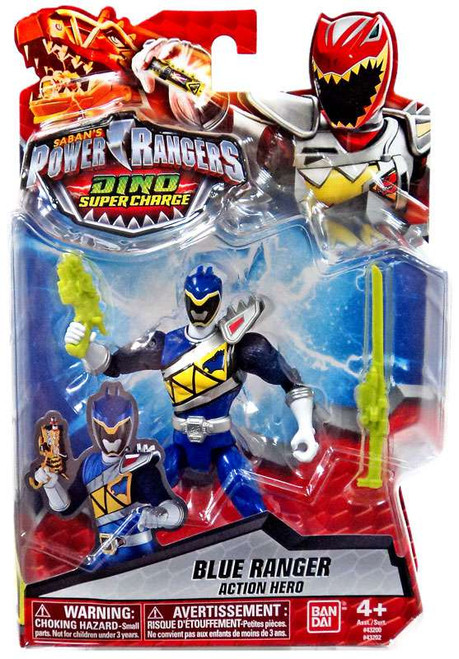 Power Rangers Dino Super Charge Blue Ranger Action Hero Action Figure