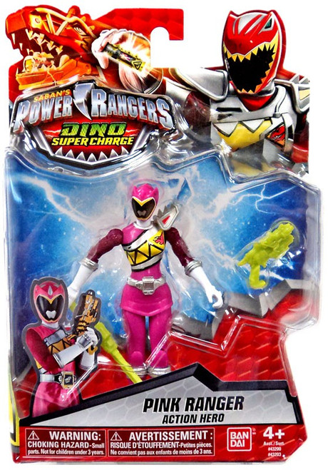 Power Rangers Dino Super Charge Pink Ranger Action Hero Action Figure