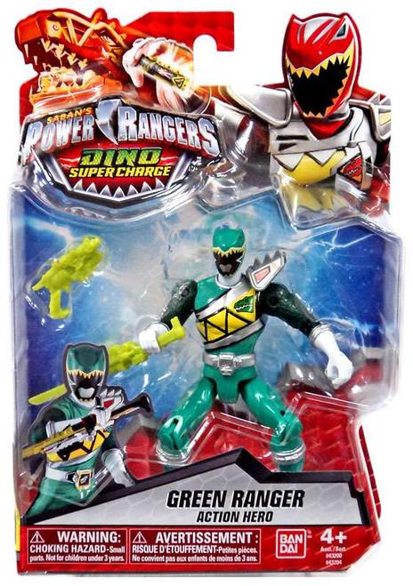 Power Rangers Dino Super Charge Green Ranger Action Hero Action Figure