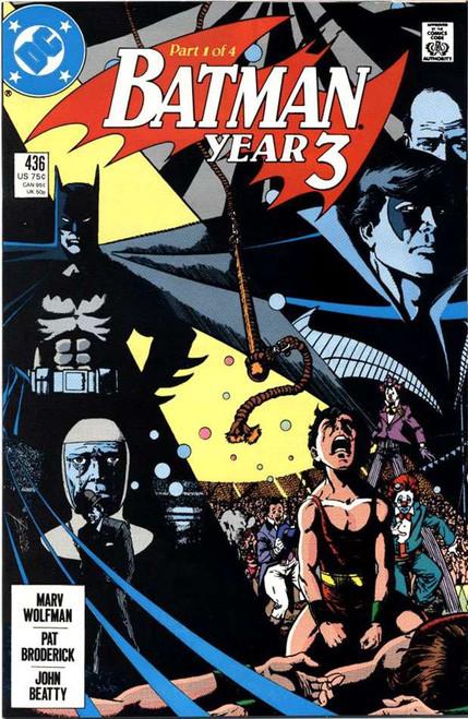 Batman #436 Comic Book [1st Tim Drake]