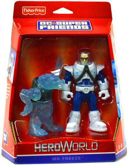 Fisher Price Batman DC Super Friends Hero World Mr. Freeze Action Figure [Damaged Package]