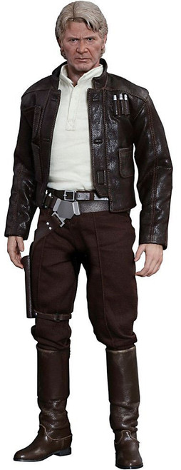 Star Wars The Force Awakens Movie Masterpiece Han Solo Collectible Figure