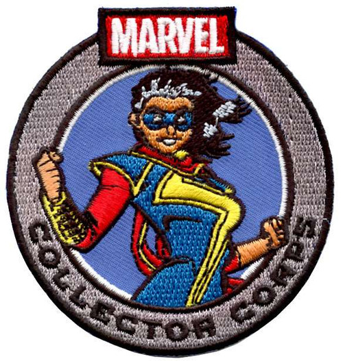Funko Marvel Collector Corps Ms Marvel Exclusive Patch