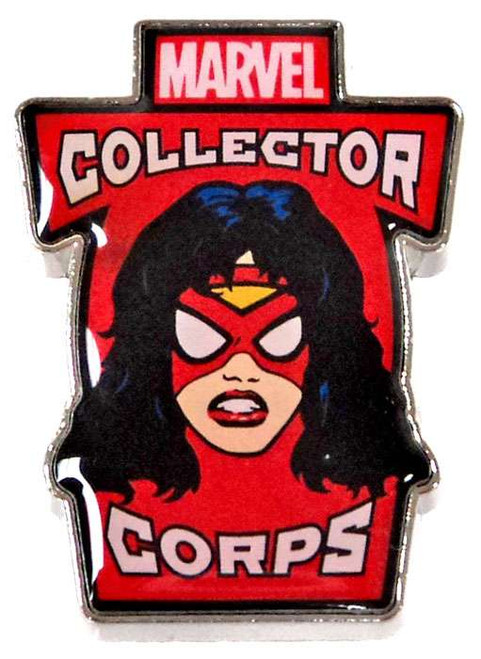 Funko Marvel Collector Corps Spider-Woman Exclusive Pin