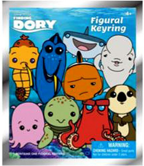 Disney 3D Figural Keyring Finding Dory Mystery Pack [1 RANDOM Figure]