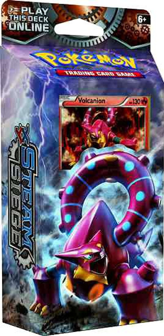 Pokemon Trading Card Game XY Steam Siege Gears of Fire Theme Deck [Volcanion]