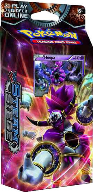 Pokemon Trading Card Game XY Steam Siege Ring of Lightning Theme Deck [Hoopa]