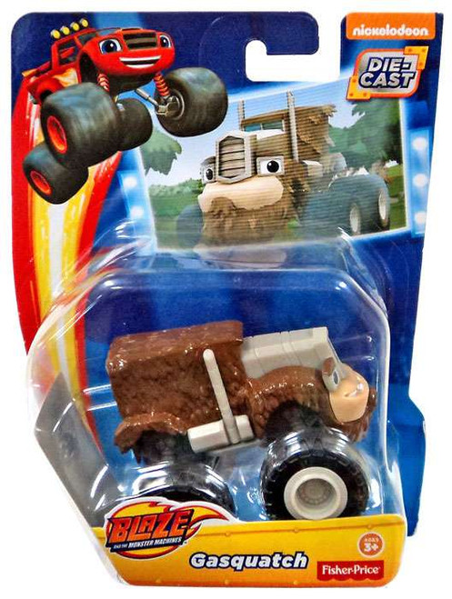 Fisher Price Blaze & the Monster Machines Gasquatch Diecast Car