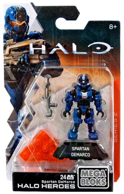 Mega Bloks Halo Heroes Series 2 Spartan DeMarco Mini Figure