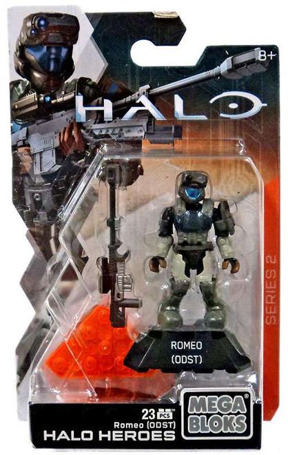 Mega Bloks Halo Heroes Series 2 Romeo (ODST) Mini Figure